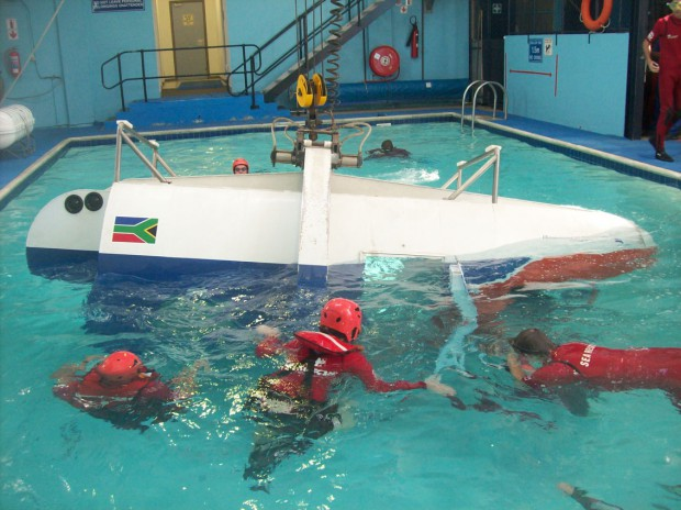 HELICOPTER UNDER-WATER ESCAPE TRAINING (HUET)