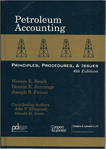 PETROLEUM FINANCE AND ACCOUNTING PRINCIPLES - PFA